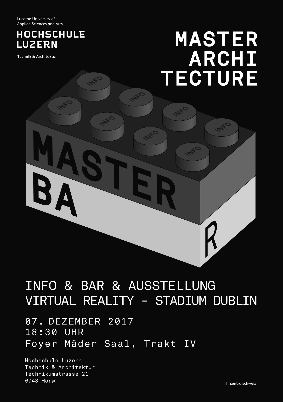 Veranstaltungen master architektur studiengang der fhnw for Master architektur